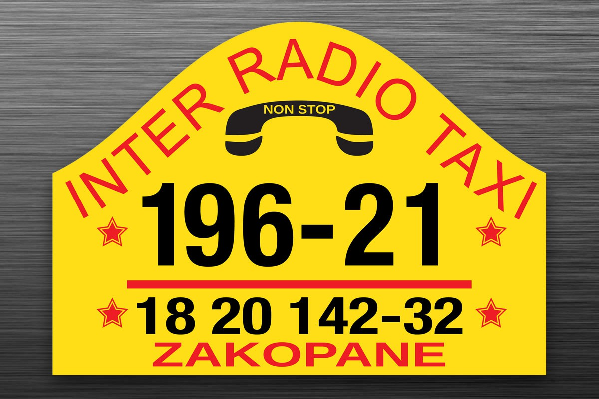 Zakopane - RegionTatry.pl - Radio Taxi Inter